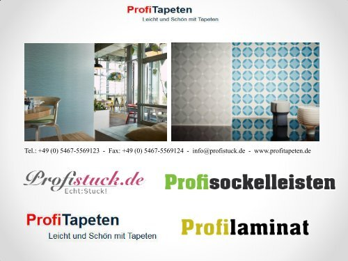 Kollektion Bohemian - Profitapeten.de