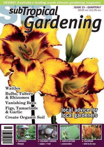 Screen Quality PDF - subTropical Gardening