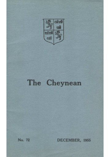 The Cheynean December 1955.jpg - Sloane Grammar School ...