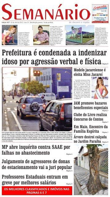 Edição 1027, de 26 de Abril de 2013 - Semanário de Jacareí