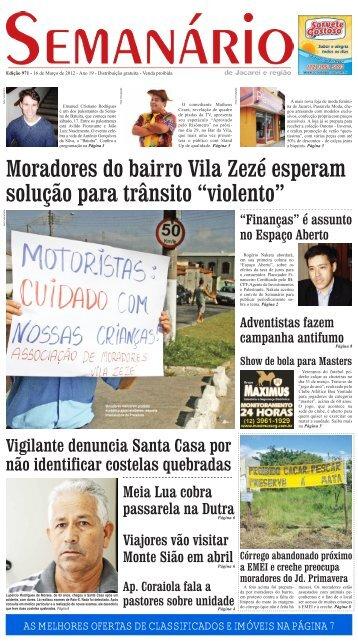 Edição 971, de 16 de março de 2012 - Semanário de Jacareí