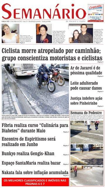 Edição 1029, de 10 de Maio de 2013 - Semanário de Jacareí