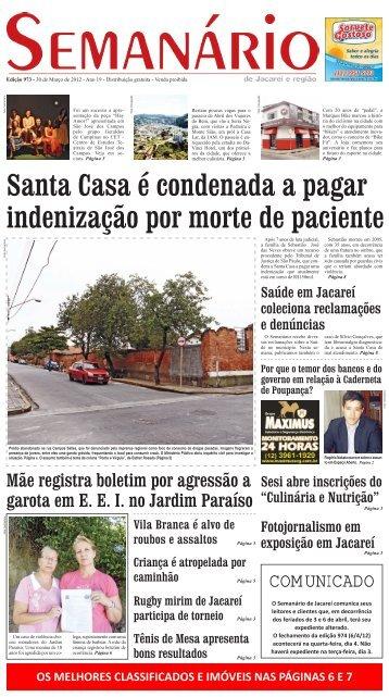 COMUNICADO - Semanário de Jacareí