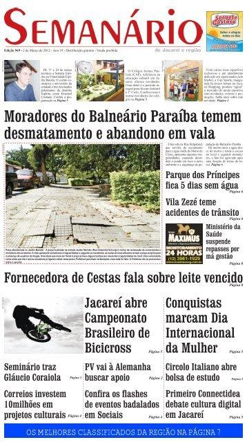 Edição 969, de 01 de março de 2012 - Semanário de Jacareí