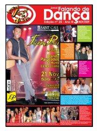 Ed. 025 - Agenda da Dança de Salão Brasileira