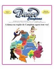 Ed. 01 Campinas - Set/2005 - Agenda da Dança de Salão Brasileira