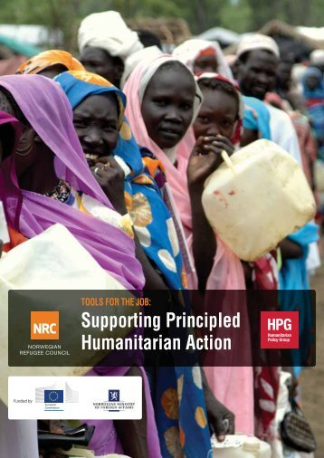 Supporting Principled Humanitarian Action - Norwegian Refugee ...