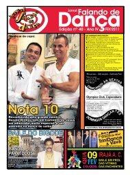 Ed. 040 - Agenda da Dança de Salão Brasileira