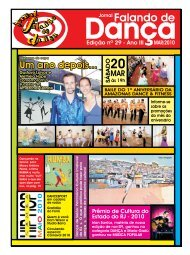 Ed. 029 - Agenda da Dança de Salão Brasileira