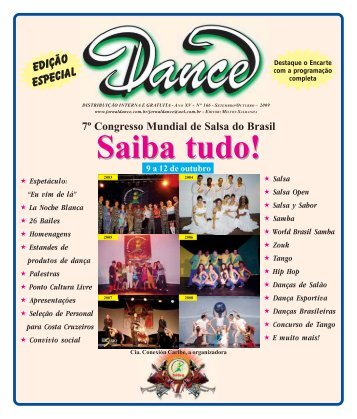 edição especial - Agenda da Dança de Salão Brasileira
