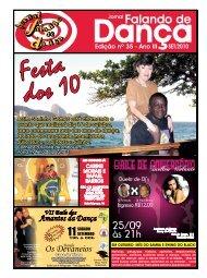 Ed. 035 - Agenda da Dança de Salão Brasileira