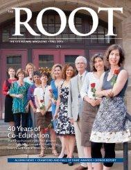 The ROOT - Fall 2013 - University of Toronto Schools