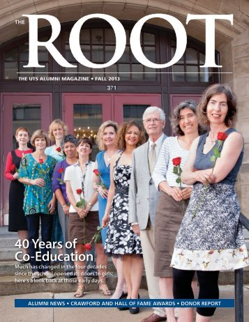 The ROOT - Fall 2013 - University of Toronto Schools