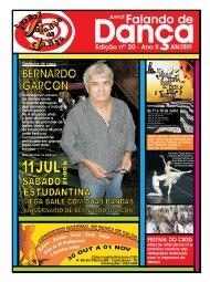 Ed. 020 - Agenda da Dança de Salão