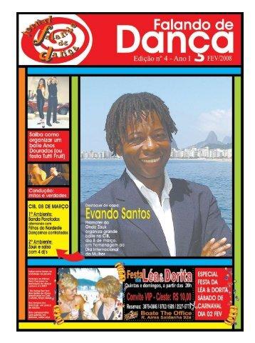 Ed. 004 - Agenda da Dança de Salão Brasileira