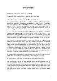 Les hele talen til Generalsekretær Elisabeth ... - Flyktninghjelpen