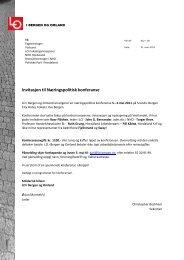 LOs næringspolitiske konferanse - Et kunnskapsbasert Norge