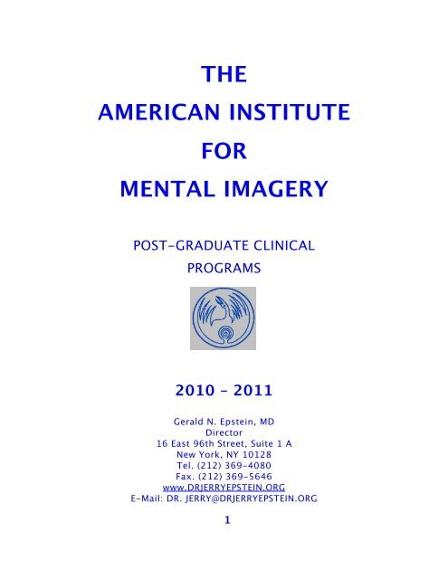 Philosophy & Curriculum (PDF) - dr  jerry epstein