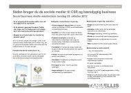 Sådan bruger du de sociale medier til CSR og bæredygtig business