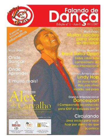 Ed. 001 - Nov/2007 - Agenda da Dança de Salão Brasileira