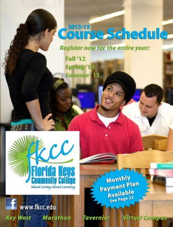 FKCC Schedule of Course Offering for 2012 2013 - KeyWestCity.com