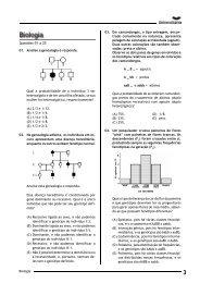 Biologia 01. Analise a genealogia e responda. Qual a probabilidade ...