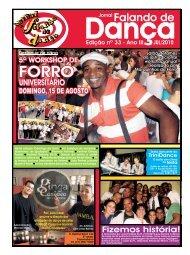 Ed. 033 - Agenda da Dança de Salão Brasileira