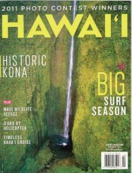 Historic_Kona, Hawaii_Magazine, 2011 - Kona Historical Society