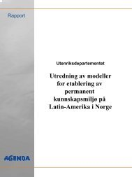 Utredning av modeller for etablering av permanent ... - NorLARNet