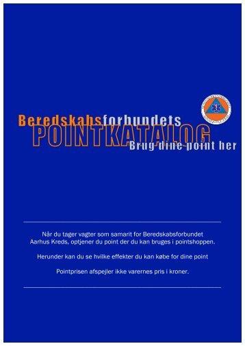Pointkatalog - Beredskabsforbundet