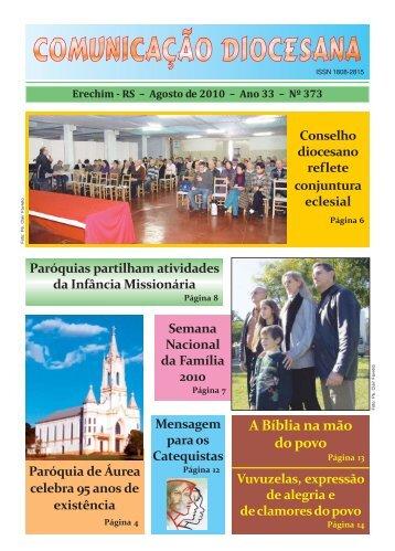 Agosto / 2010 - Catedral São José