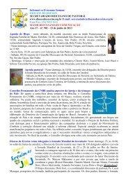 Informativo Semanal do dia 23 de Junho - Diocese de Erexim