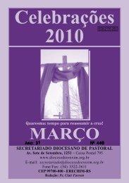 Celebrações 2010 - Diocese de Erexim