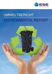 Broschüre Umweltbericht - Ese.com