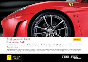 Set di pneumatici Pirelli Jeu de pneus Pirelli