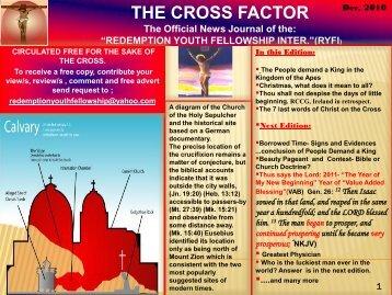 THE CROSS FACTOR