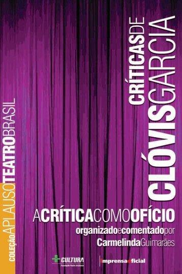 Críticas de Clóvis Garcia - Livraria Imprensa Oficial