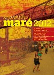 Guia de Ruas Maré 2012 - Redes de desenvolvimento da Maré