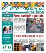 Para corrigir a polícia - Redes de desenvolvimento da Maré