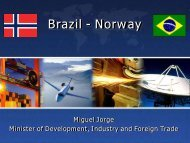 Brazil - Norway