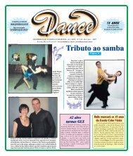 Ed. 144 - Out/2007 - Agenda da Dança de Salão Brasileira