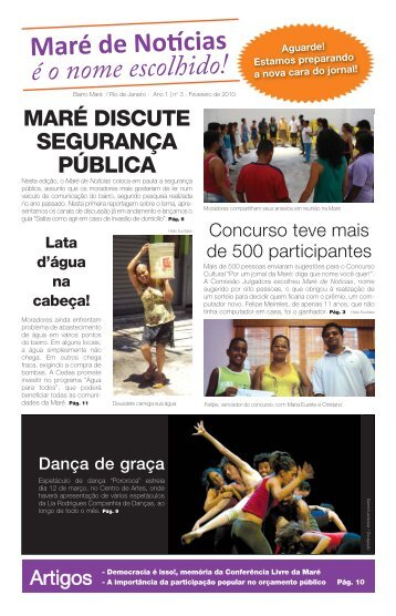 REDES_comunicação_jornal maré_#03_layout 00.indd - Redes de ...