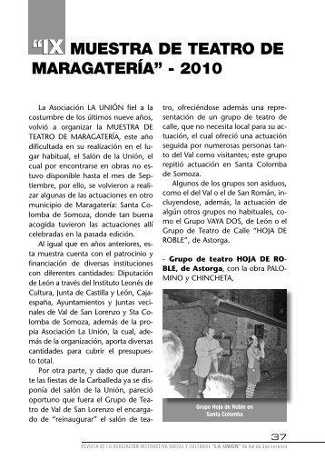 Revista La UNIÓN-Nov 10.indd - sociedadlaunion.org.es