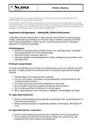 Ingeniører/sivilingeniører – Hydraulikk, Elektro/Instrument - Scana ...