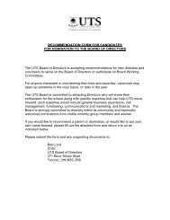 RECOMMENDATION FORM FOR CANDIDATES FOR NOMINATION ...