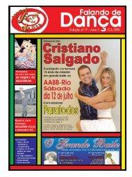Ed. 009 - Jul/2008 - Agenda da Dança de Salão Brasileira