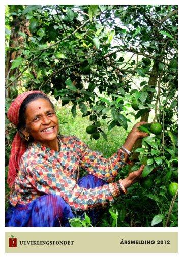 ÅRSMELDING 2012 - Utviklingsfondet