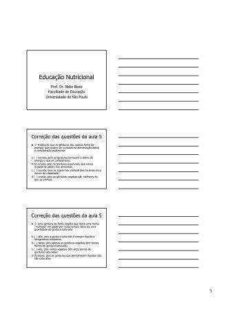 Clique aqui para copiar o material impresso [em PDF] - USP