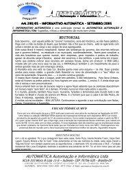 setembro - Portal Automática Automação e Informática Ltda
