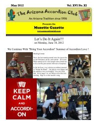 May 2012 - Arizona Accordion Club
